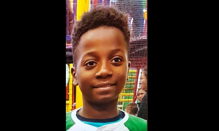 Police is still searching for missing child Ariel Jeffrey Kouakou. (Montreal Police)