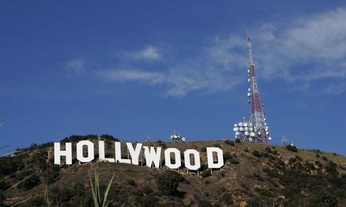 The Hollywood sign in Hollywood, Calif., on Dec. 5, 2005. (David Livingston/Getty Images)