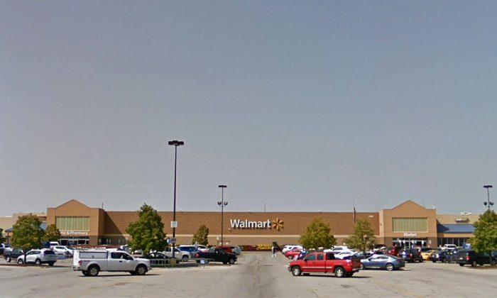 The Ankeny, Iowa Walmart where the incident took place.  (Google Maps screenshot)