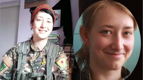 Anna Campbell is the first British woman killed in Syria while serving with Kurdish forces. (Reuters/Handout)