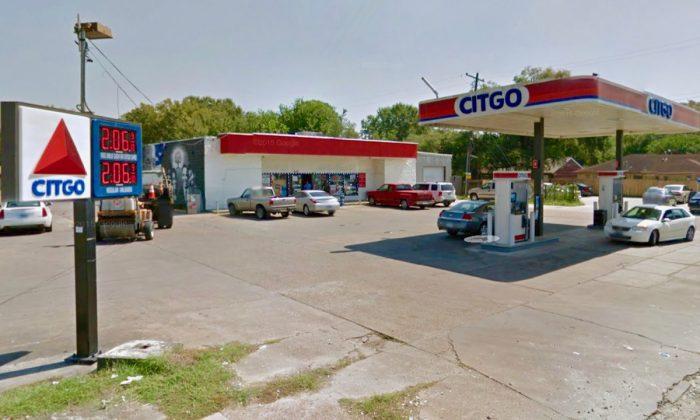Citgo gas station were man was shot, on 8100 block of Martin Luther King Blvd. in Houston, Texas. (Screenshot via Google Maps)