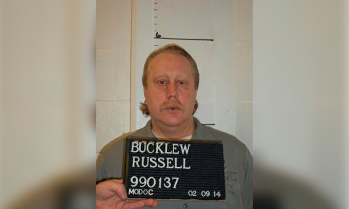 Death row inmate Russell Bucklew is shown in this Missouri Department of Corrections photo taken on Feb. 9, 2014. (Reuters/Missouri Department of Corrections/Handout via Reuters/File Photo)