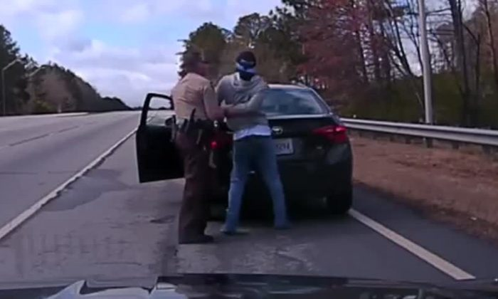(Screenshot via Walton County GA Sheriff's Office via Storyful)