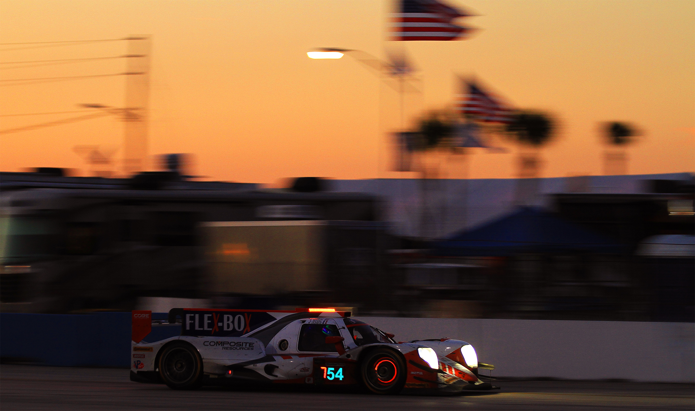 Core Autosport finished fourth overall, the first P2 and the first Pro-Am car. (Chris Jasurek/Epoch Times)