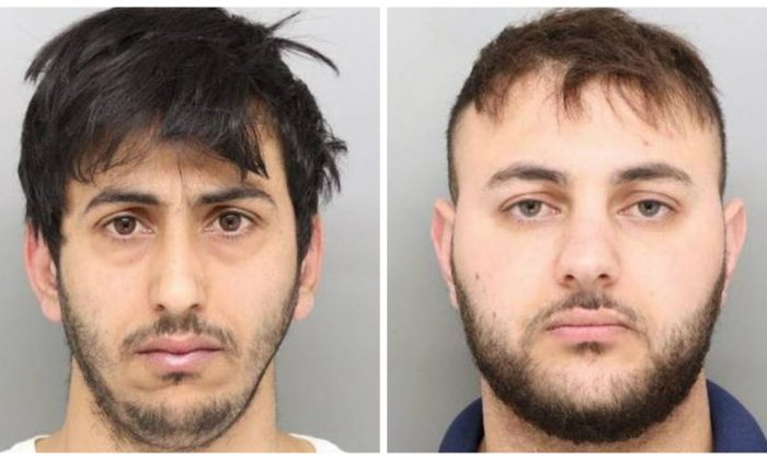 Mohammed Jagameh (L) and Tayseer Mustafa. (Cincinnati Police)