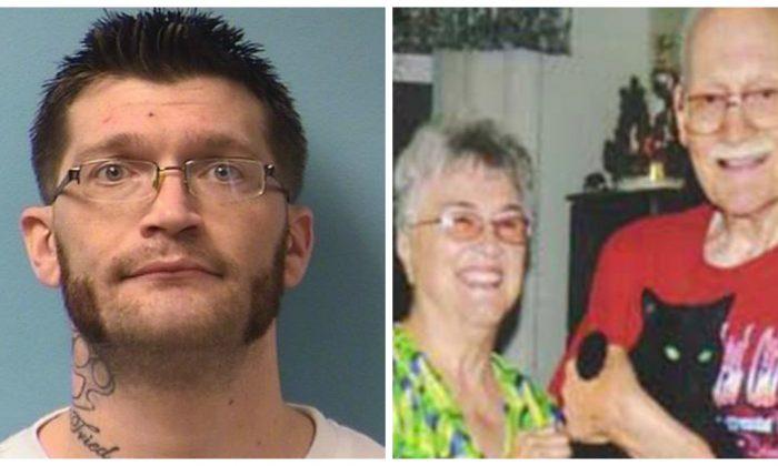 Gregory Scheel (L) and his grandparents. (Minnesota BCA)