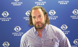 Actor Finds 'Life-Changing Experience' at Shen Yun