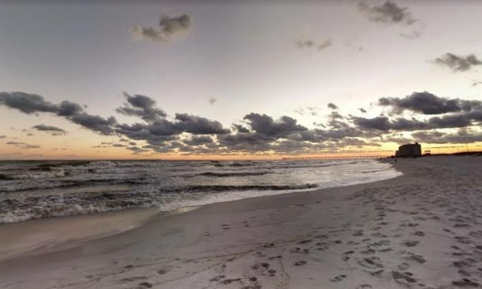 Navarre Beach, Florida. (Screenshot via Google Maps)