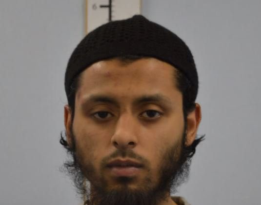 Umar Ahmed Haque is seen in an undated booking photograph handed out by the Metropolitan Police in London, Britain Mar. 2, 2018. (Metropolitan Police handout via REUTERS)