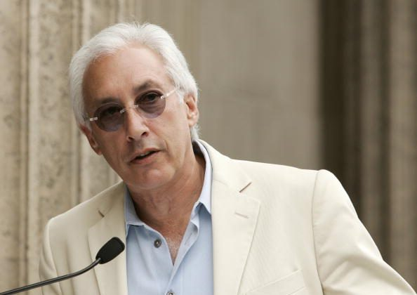 Writer and producer Steven Bochco in 2006. (Vince Bucci/Getty Images)