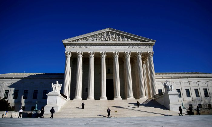 The U.S. Supreme Court in Washington on Jan. 19, 2018.  (Reuters/Eric Thayer/File Photo)