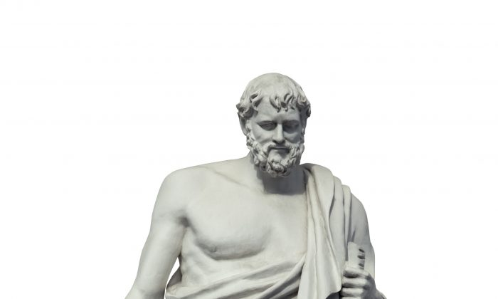 Hippocrates, an ancient Greek physician, is widely regarded as the father of medicine. (itechno/Shutterstock)