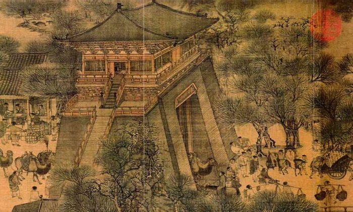 "One section of ""Along the River During the Qingming Festival,"" Zhang Zeduan (1085–1145). (All photos Public Domain)"