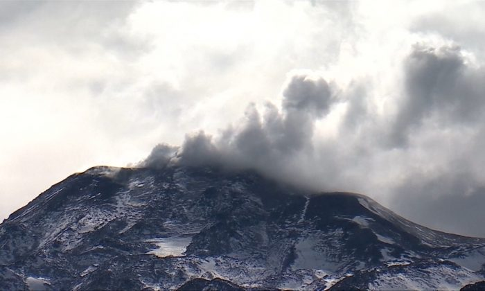 Photo of Chillan Volcano (courtesy: Reuters)