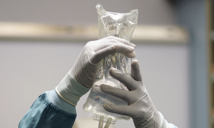IV drip. (Joe Raedle/Getty Images)