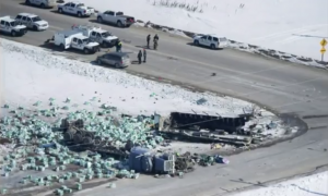 Trucking Company Involved in Humbolt Broncos Bus Crash Suspended Indefinitely