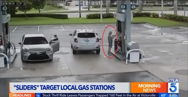 Woman Exits Her Car to Pump Gas When Man Pulls up by Her—He