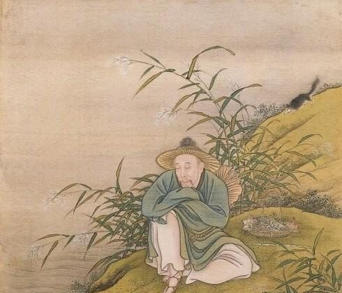 "The Emperor depicted as a fisherman. From ""Album of the Yongzheng Emperor in Costumes,"" by anonymous court artists, Yongzheng period (1723–1735). One of 14 album leaves, color on silk. The Palace Museum, Beijing. (Public Domain)"