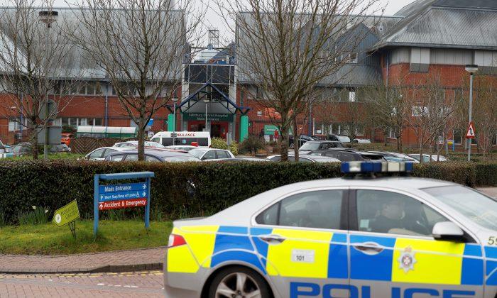 Salisbury District Hospital is seen after Yulia Skripal was discharged, in Salisbury, Britain, April 10, 2018. (Reuters/Peter Nicholls)