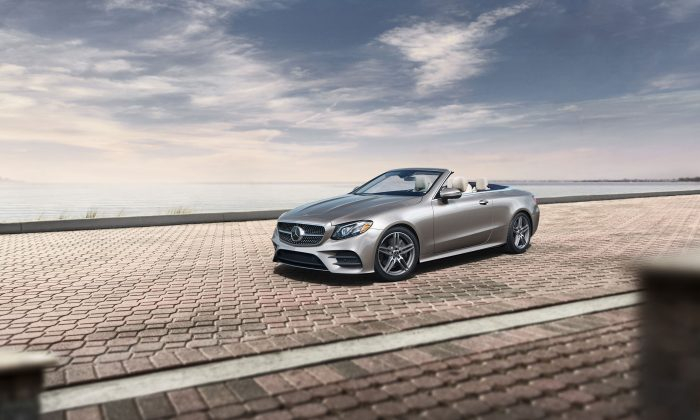 2018 Mercedes-Benz E 400 Cabriolet. (Courtesy of Mercedes-Benz)
