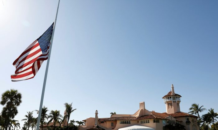 President Donald Trump's Mar-a-Lago estate in Palm Beach, Florida U.S. on April 18, 2018. (Kevin Lamarque/Reuters)