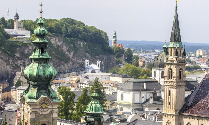 Salzburg, the city of churches. (Mohammad Reza Amirinia)