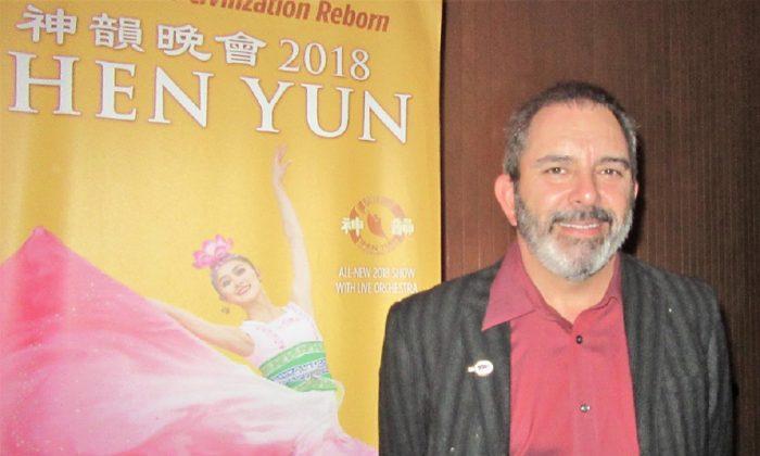 Shen Yun Is Culturally 'Very Enlightening,' Actor Says