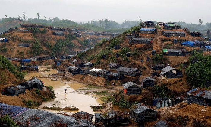 A Rohingya refugee camp in Cox's Bazar, Bangladesh, Sept. 19, 2017.  (Reuters/Cathal McNaughton/File Photo)