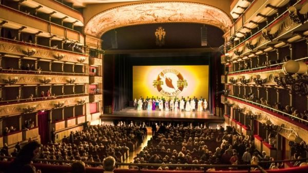 Shen Yun Performing Arts in Florence, Italy.