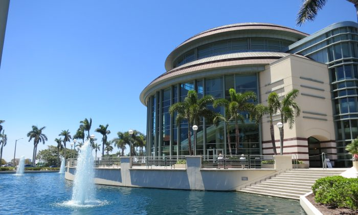 Kravis Center for the Performing Arts, West Palm Beach, Fla. (The Epoch Times)