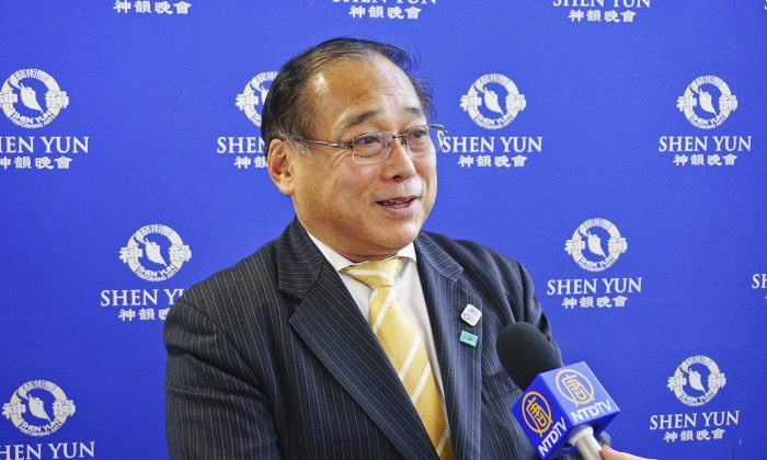 Hotel General Manager Appreciates Shen Yun's Traditional Chinese Culture