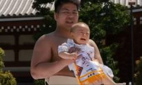 Babies Encouraged to Cry in Japanese Festival