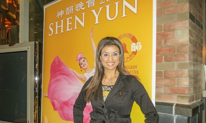 Actress Inspired by the Divine Beauty of Shen Yun