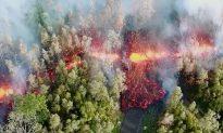 Hawaii Volcano Spews Lava 200 Feet in the Air,  Destroys 26 Homes