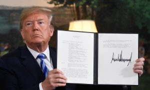 Trump Withdraws From Iran Deal, Orders Reimposing 'Highest Level' Sanctions