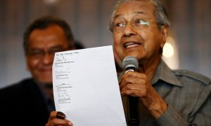 After 'The Malaysia Tsunami,' Mahathir Says Urgency to Form New Government