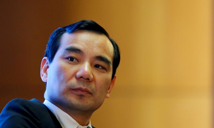 Former chairman of Anbang Insurance Group Wu Xiaohui attends the China Development Forum in Beijing, China, on March 18, 2017. He has been sentenced to 18 years in prison for corruption crimes. (Thomas Peter/File Photo/Reuters)