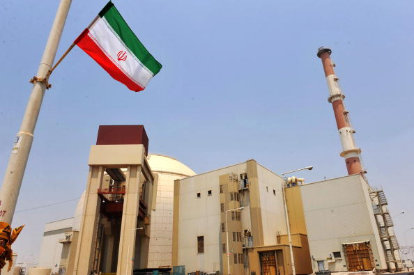 This handout image supplied by the IIPA (Iran International Photo Agency) shows a view of the reactor building at the Russian-built Bushehr nuclear power plant as the first fuel is loaded, on August 21, 2010 in Bushehr, southern Iran.  (Photo by IIPA via Getty Images)