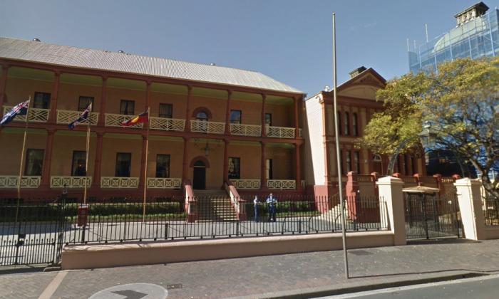 Parliament of New South Wales. (Screenshot via Google Maps)