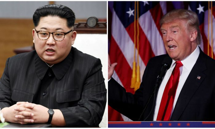 North Korean dictator Kim Jong Un and U.S. President Donald Trump. (Korea Summit Press Pool/Getty Images; Mark Wilson/Getty Images)