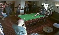Footage Shows Amazing Moment After Failed Pool Shot