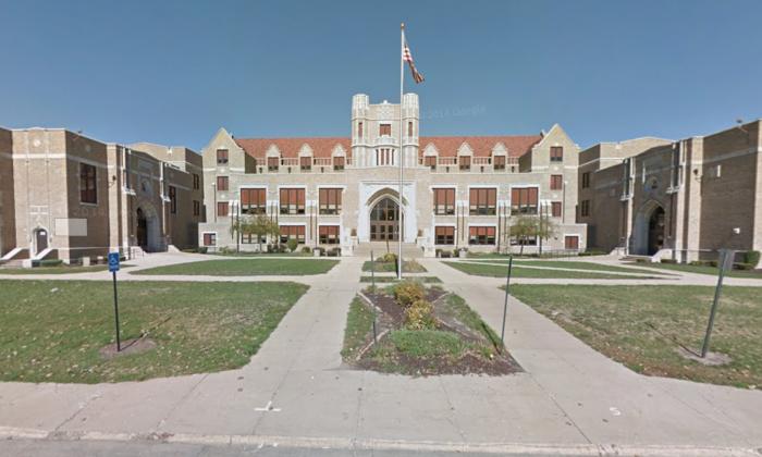 Dixon High school in Illinois. (Screenshot Via Google Maps)