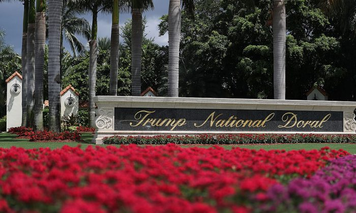 The grounds of Trump National Doral Golf Club on June 1, 2016 in Doral, Florida.  (Joe Raedle/Getty Images)