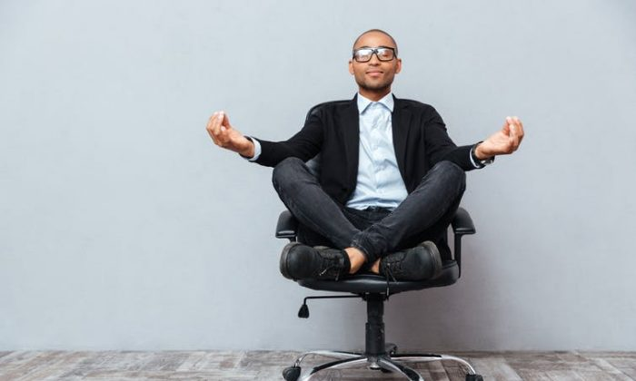 Research shows that just 10 minutes of meditation per day can increase business students' physical, mental and emotional awareness. (Shutterstock)