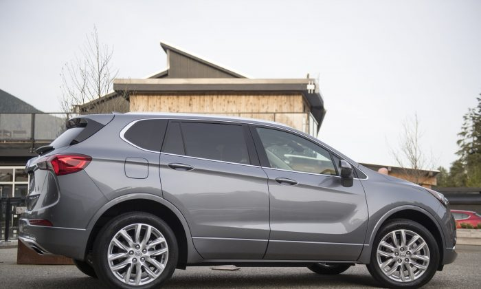 2019 Buick Envision. (Buick Canada)
