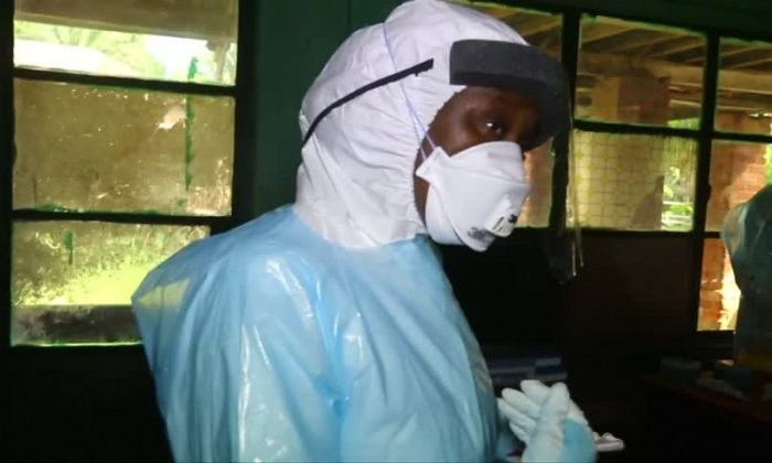 At least 13 confirmed cases of the Ebola virus have emerged in Congo's northeast since Aug. 1. (Reuters/Screenshot)