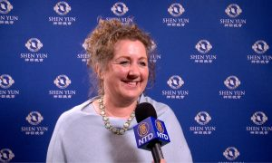 Charity Founder Amazed by Shen Yun