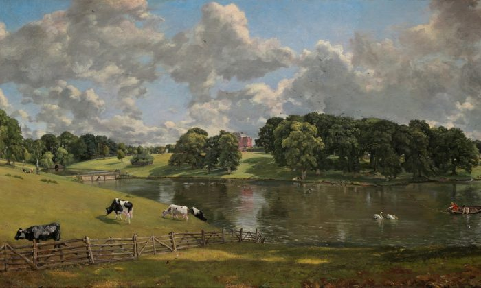 """Wivenhoe Park,"" 1816, by John Constable. National Gallery of Art, Washington. Despite, or because of, our increasingly noisy world, we always long for the ideal: serenity. (Public Domain)"