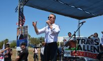 Allen Rallies For Secure Borders and the California Governorship
