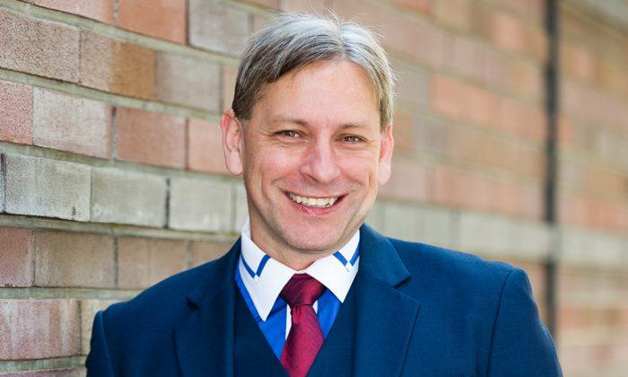 Mark Meuser, California secretary of state candidate. (Courtesy of Mark Meuser)